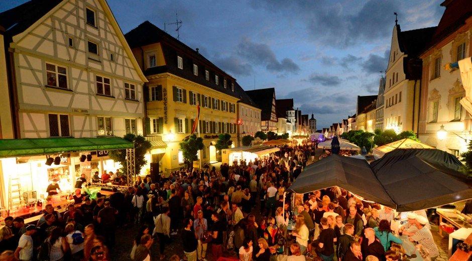 Guenzburg Guntiafest © Stadt Guenzburg