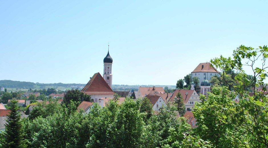 Die Markgrafenstadt Burgau in Bayerisch-Schwaben © H.Dr.Siemon