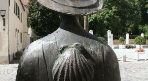 Bronzestatue Oettingen, © TVABS