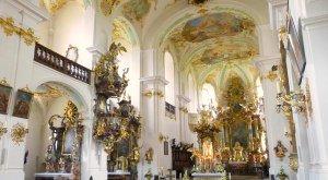 Kirchenpracht in Maria Brünnlein Wemding, © Wemding
