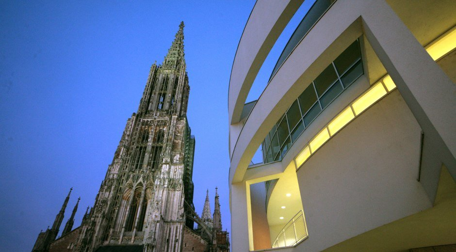 Das Ulmer Münster - der höchste Kirchturm der Welt © Ulm/Neu-Ulm Touristik