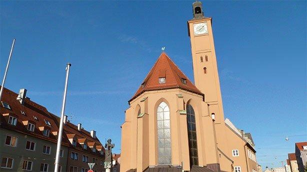 Pilgerherberge St. Jakob in Augsburg © TVABS
