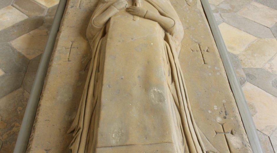 Grabmal der Mystikerin Margareta Ebner © Donautal-Aktiv e.V.