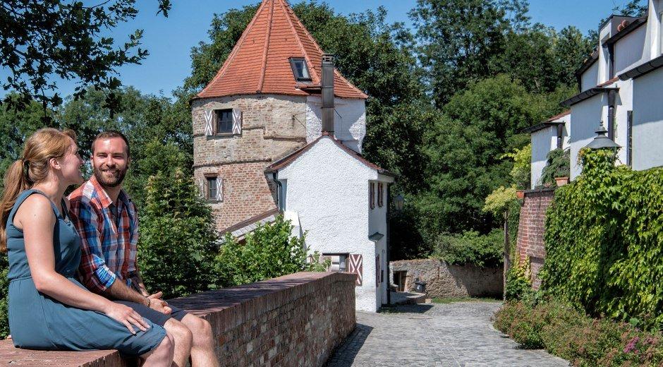 Stadtmauer Friedberg © Trykowski