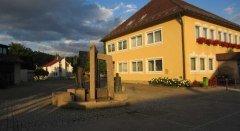 Rathaus Brunnen Bellenberg