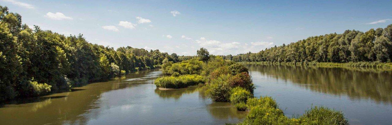Natur- und vor allem Flusslandschaften prägen das Landschaftsbild Bayerisch-Schwabens in Bayern © Fouad Vollmer