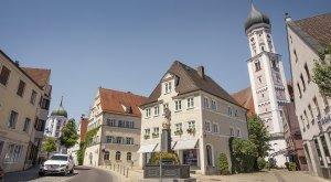 Stadtkulisse in Burgau © Fouad Vollmer