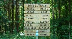 Dialektbaum, © Donautal-Aktiv e.V.
