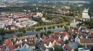 Die Donau-Doppelstadt Ulm/Neu-Ulm © Fouad Vollmer Werbeagentur