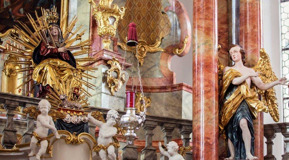 Frauenkirche Günzburg © Regionalmarketing Günzburg GbR