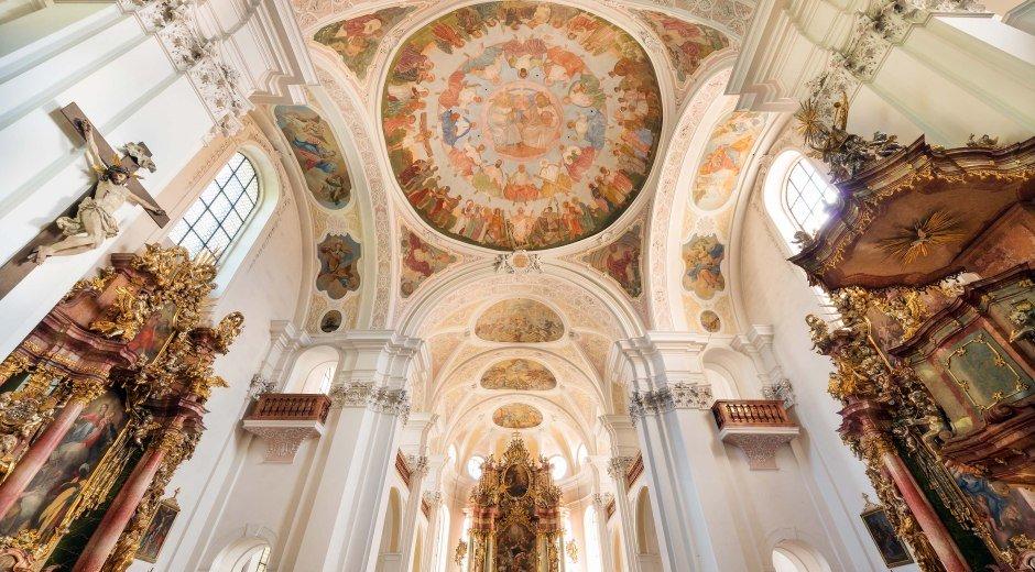 Barockkirche Heilig Kreuz in Donauwörth © Städtische Tourist-Information Donauwörth, Thomas Linkel
