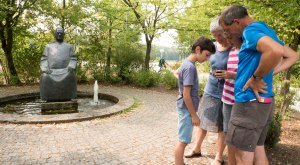 Das Kneippdenkmal in Dillingen an der Donau., © Stadt Dillingen a.d. Donau
