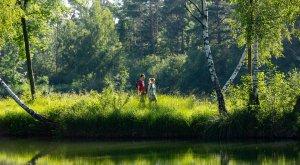Wanderer auf dem DonAUwald, © Jenny Kwittung