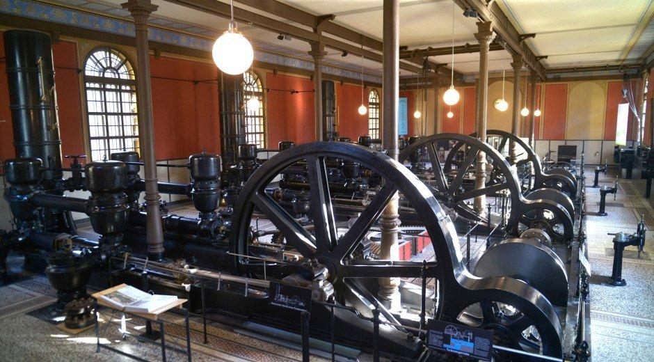 Das Wasserwerk am Hochablass in Augsburg ist eine der 22 Objekte der Welterbestätte des Augsburger Wassermanagement-Systems. © Thomas Hosemann