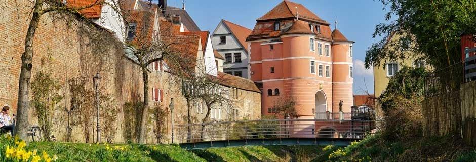 Donauwörth, Stadtmauer an der kl. Wörnitz © Stadt Donauwörth, hefoe