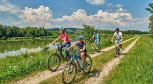 Radfahren mit Kindern © Trykowski