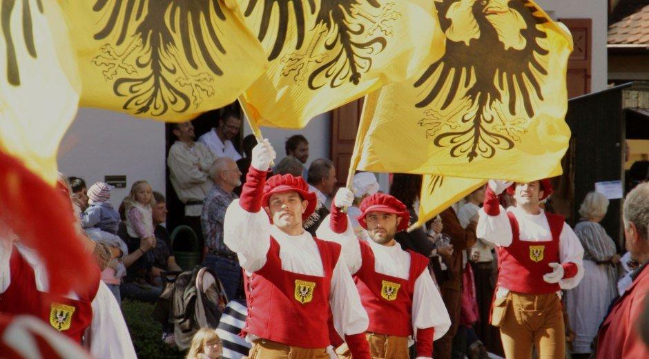 TRadition wird in Nördlingen in zahlreichen Festen gelebt © Stadt Noerdlingen