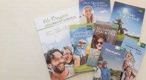 Broschüren zu allen Themen Bayerisch-Schwabens, © TVABS