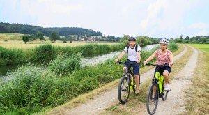 Radfahren an der Donau in Bayerisch-Schwaben, © Florian Trykowski