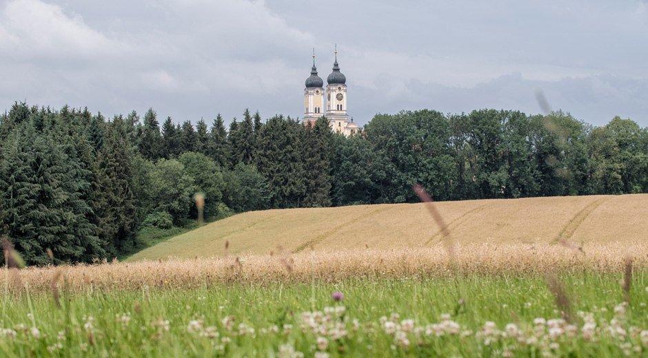 Landidylle rund um Kloster Roggenburg © Trykowski