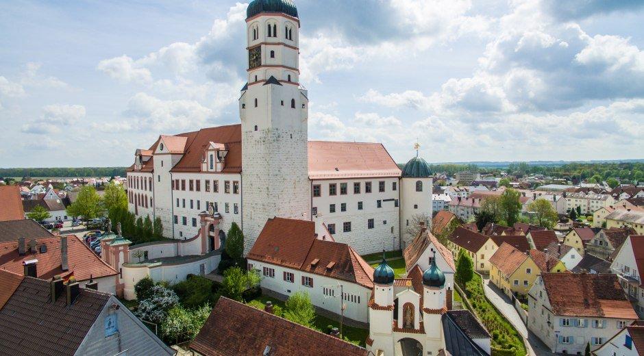 Dillingen - Panorama © Stadt Dillingen
