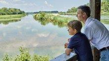 Vogelbeobachtung an der Donau  ©Trykowski © Trykowski
