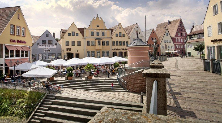 Donauwörth - Altstadtinsel Ried © Fouad Vollmer
